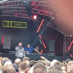 DJ Hannibal on the On A Mission Stage at Soundclash Festival