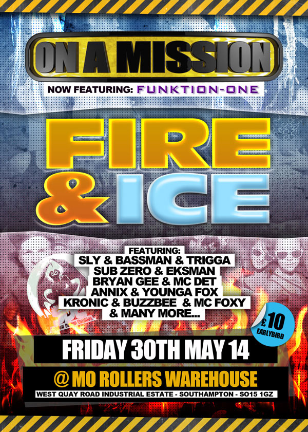 On A Mission Fire & Ice