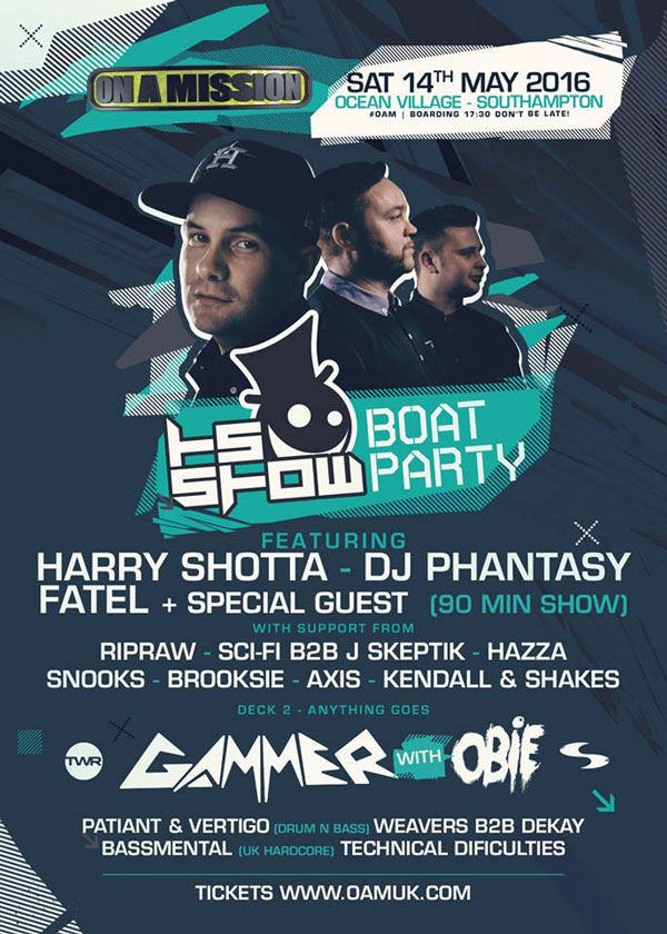 On A Mission Harry Shotta Boat Show
