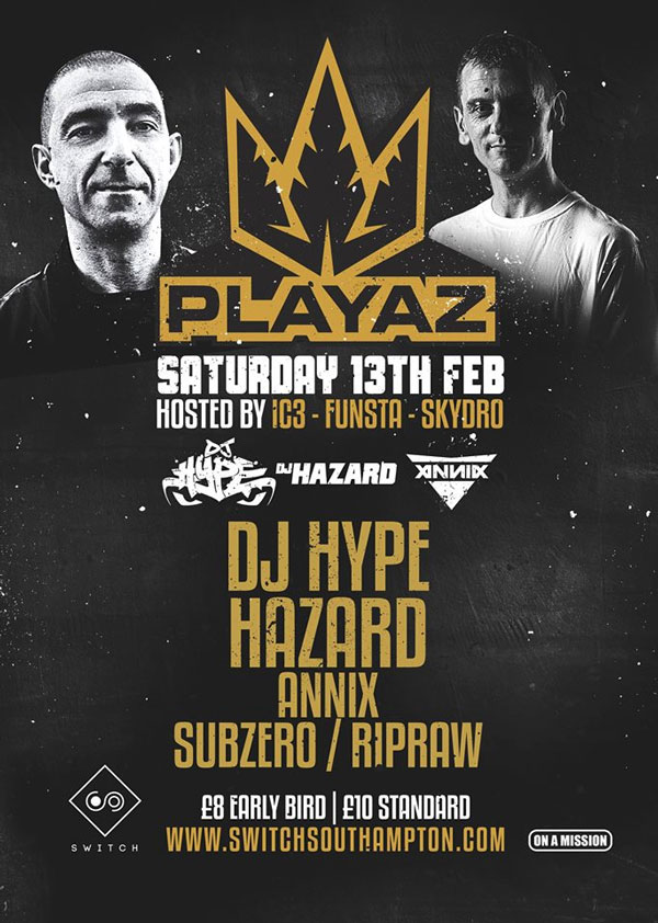 On A Mission Presents Playaz at Switch