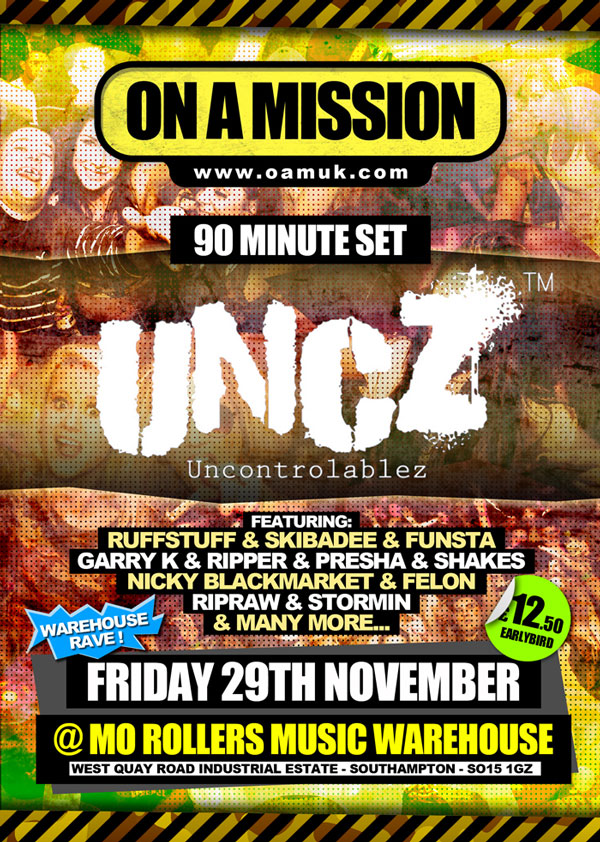 On A Mission Presents UNCZ