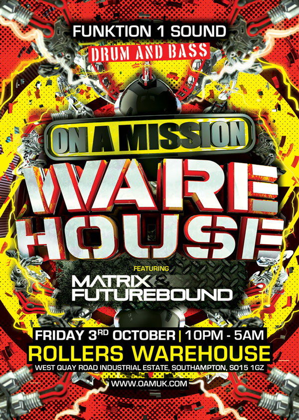 On A Mission Warehouse Party