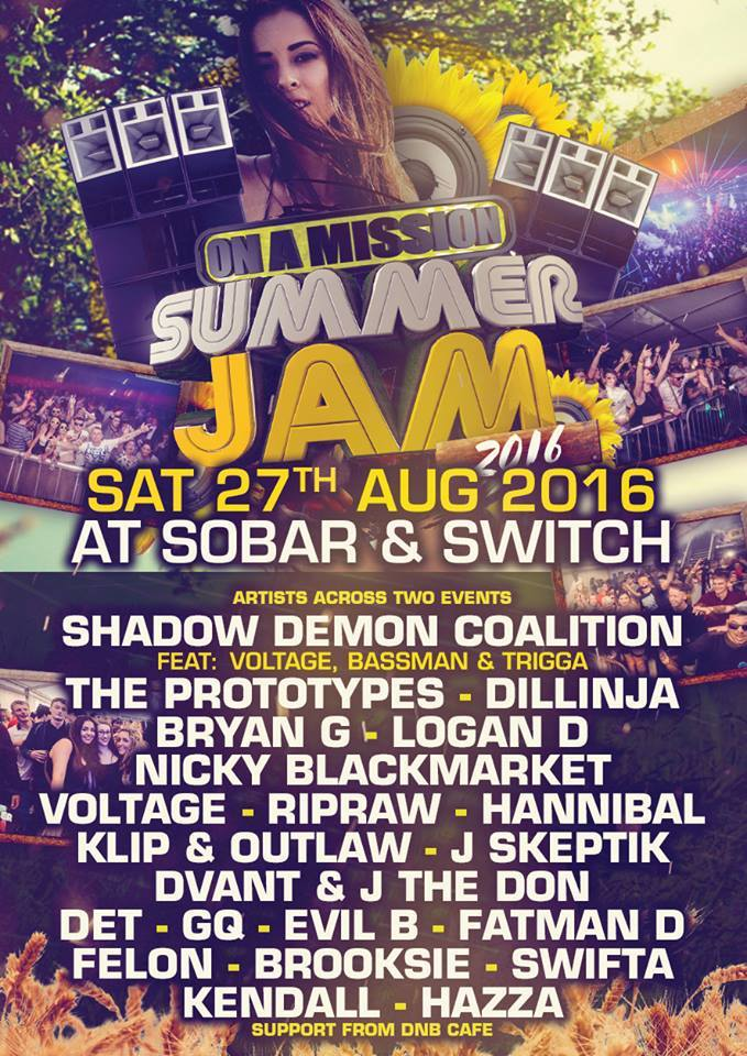 SummerJam 2016 Flyer
