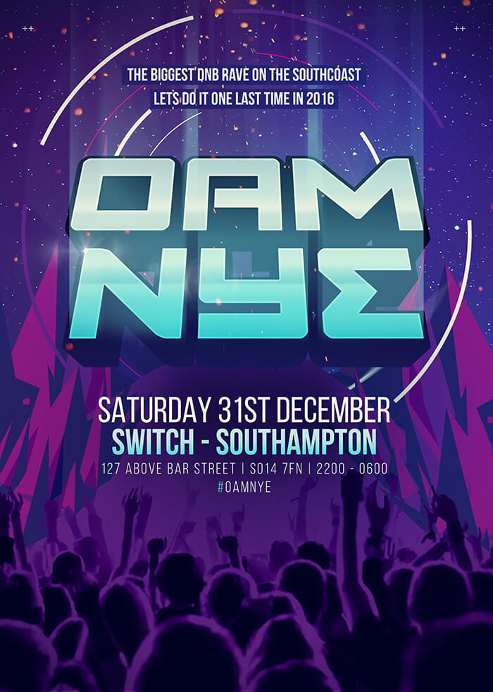 On A Mission New Years Eve Pre-flyer