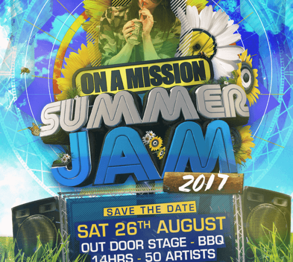 On A Mission Summer Jam 2017 Pre-Flyer